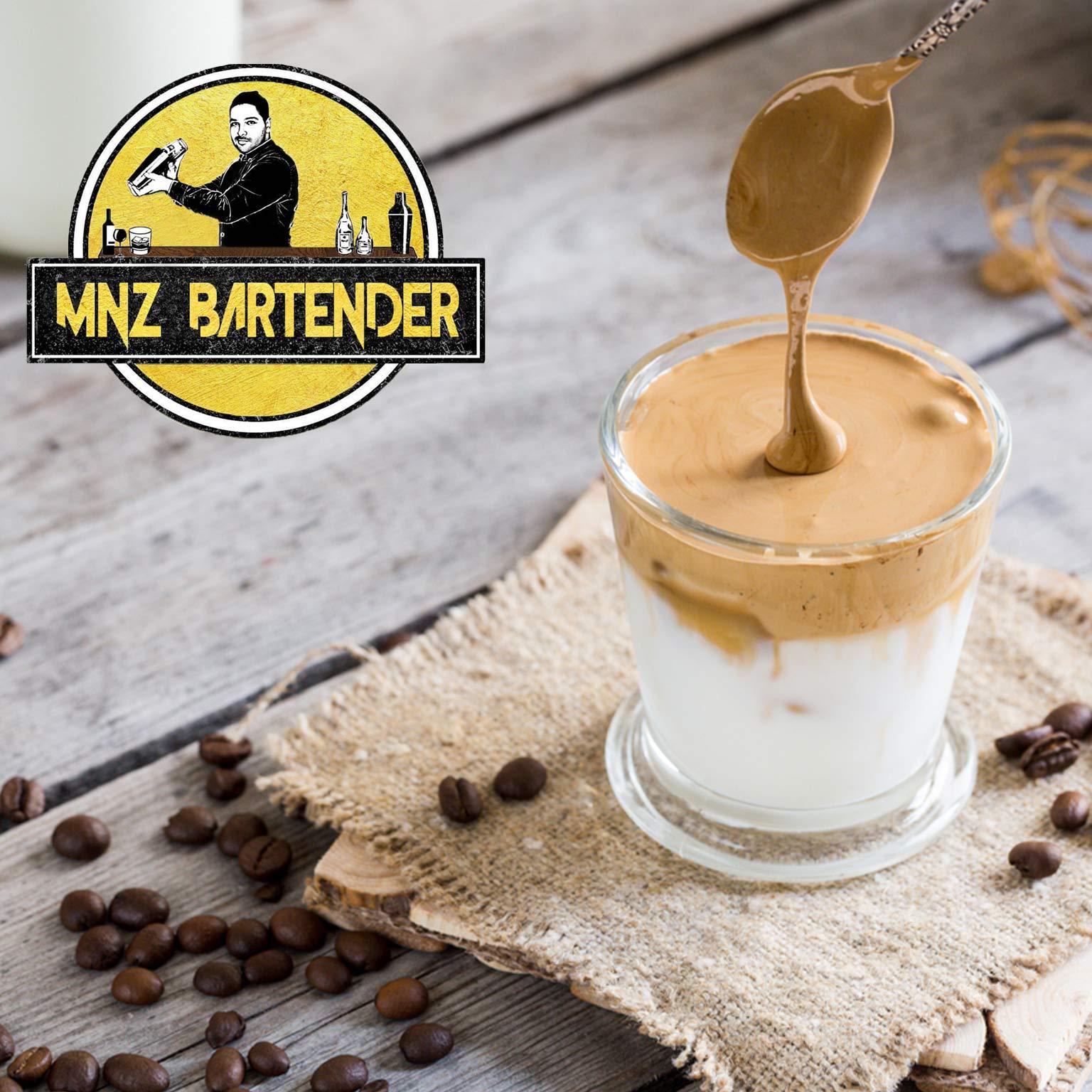 دستور تهیه قهوه شیر بادام